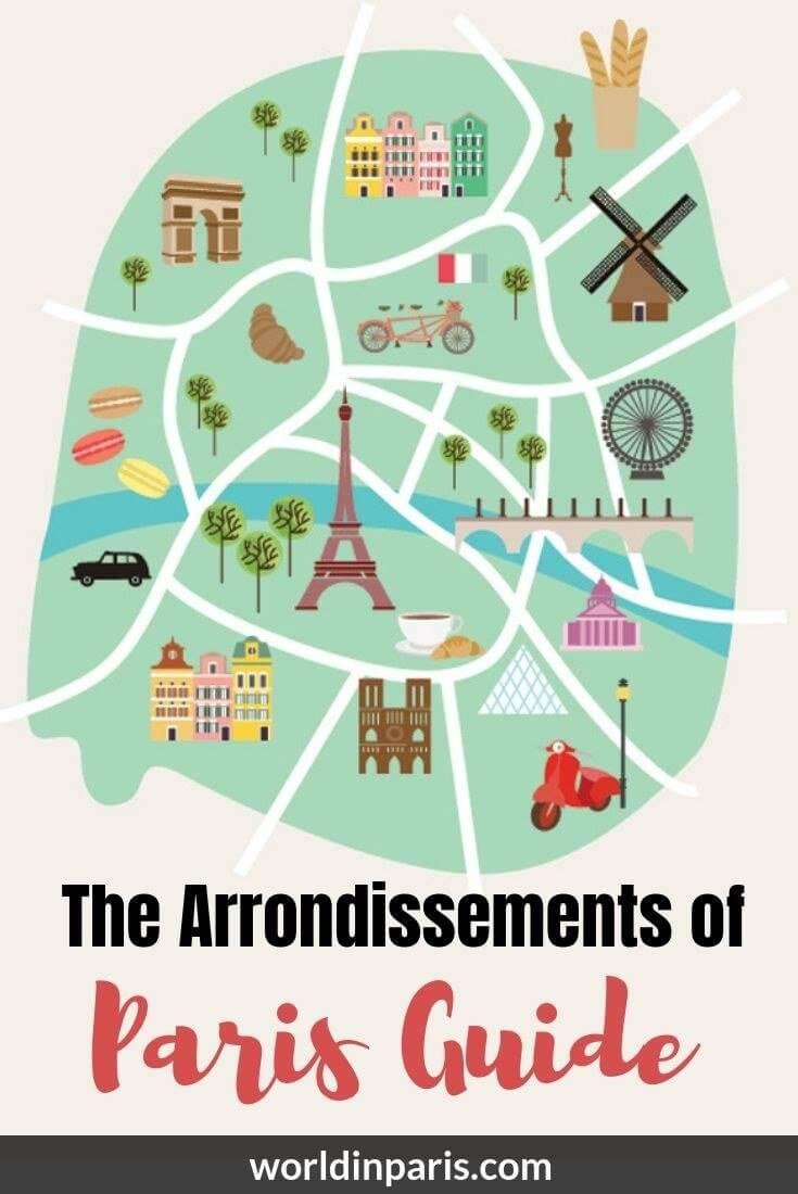 Explore the Arrondissements of Paris with our Paris Arrondissement Guide! Paris By Arrondissement, Districts of Paris, Paris Districts, Paris Arrondissements, Paris Like a Local, Paris Neighborhoods #paris #france