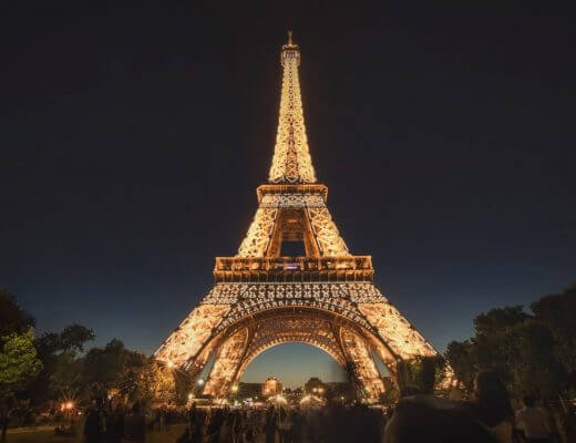 Visit the Eiffel Tower, Paris
