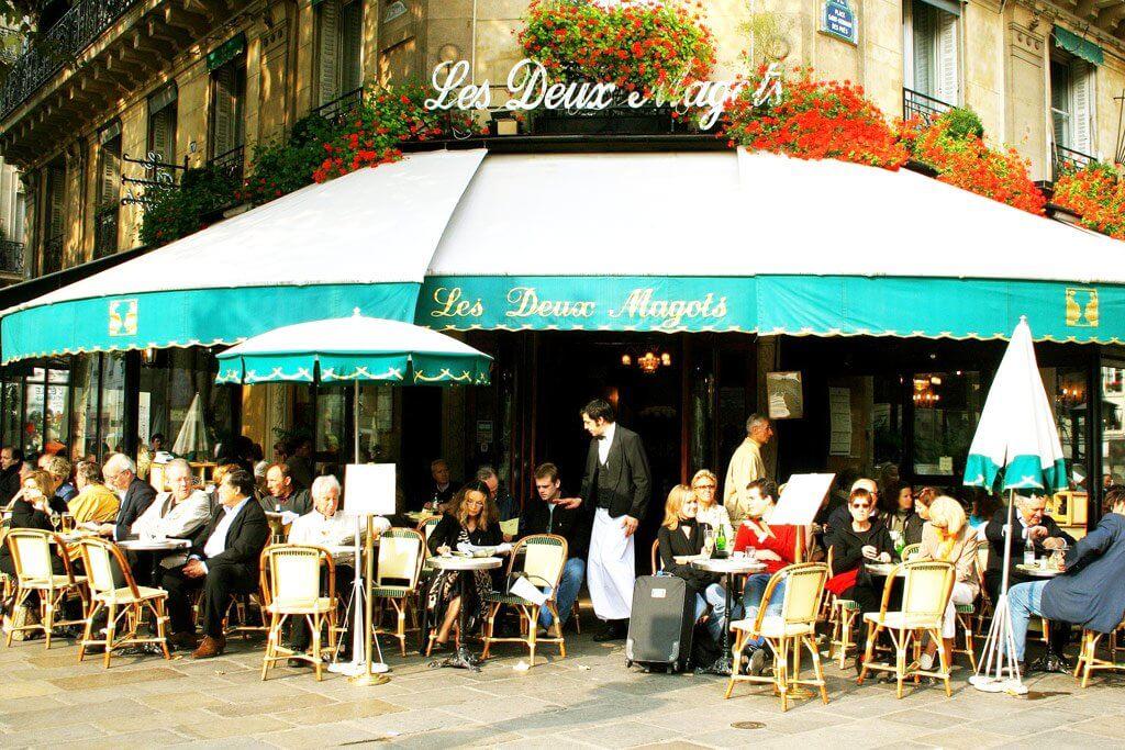 café Les Deux Magots, Paris