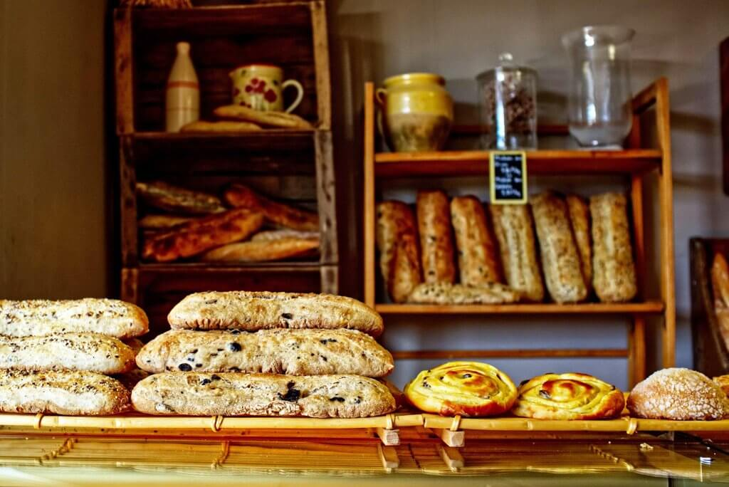 French bakery in Paris