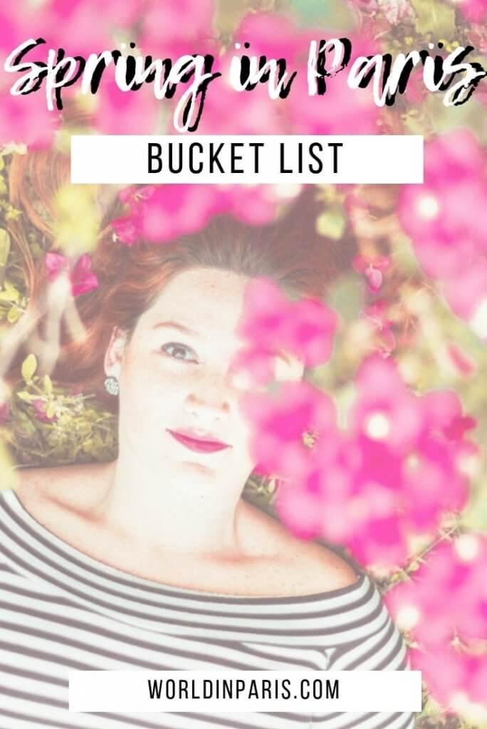 Spring in Paris bucket list, Paris in the Springtime bucket list, things to do in Paris in the spring, Visiting Paris in April, Visiting Paris in May, Visiting Paris in June #paris #spring #moveablefeast