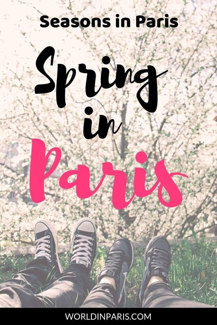 Read about the best things to do in Paris in the Spring, if you are visiting Paris in April, Paris in May and Paris in June. Spring in Paris bucket list, for Paris in the springtime #paris #spring #moveablefeast #france