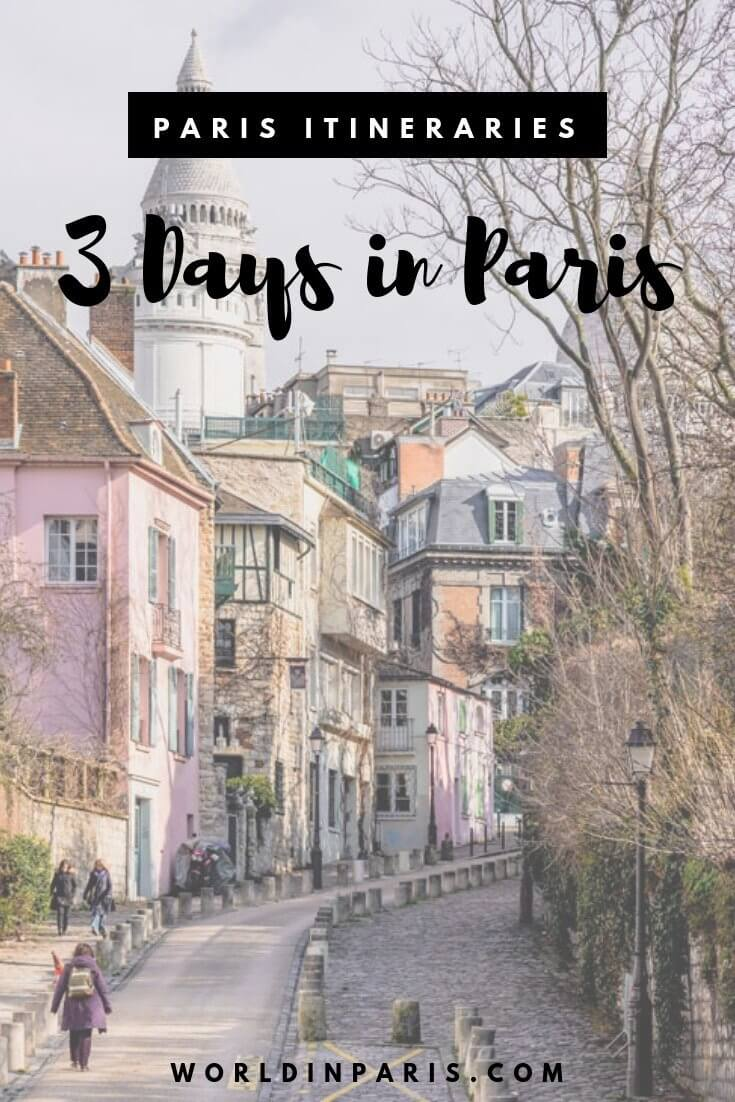 Paris Travel Itineraries, Paris for 3 days, Paris Itineraries, 3 days in Paris Itinerary, Paris Travel Itineraries, Trip to Paris, Paris for two days, Paris Places to Visit, Things to do in Paris, Paris Trip Planner #paris