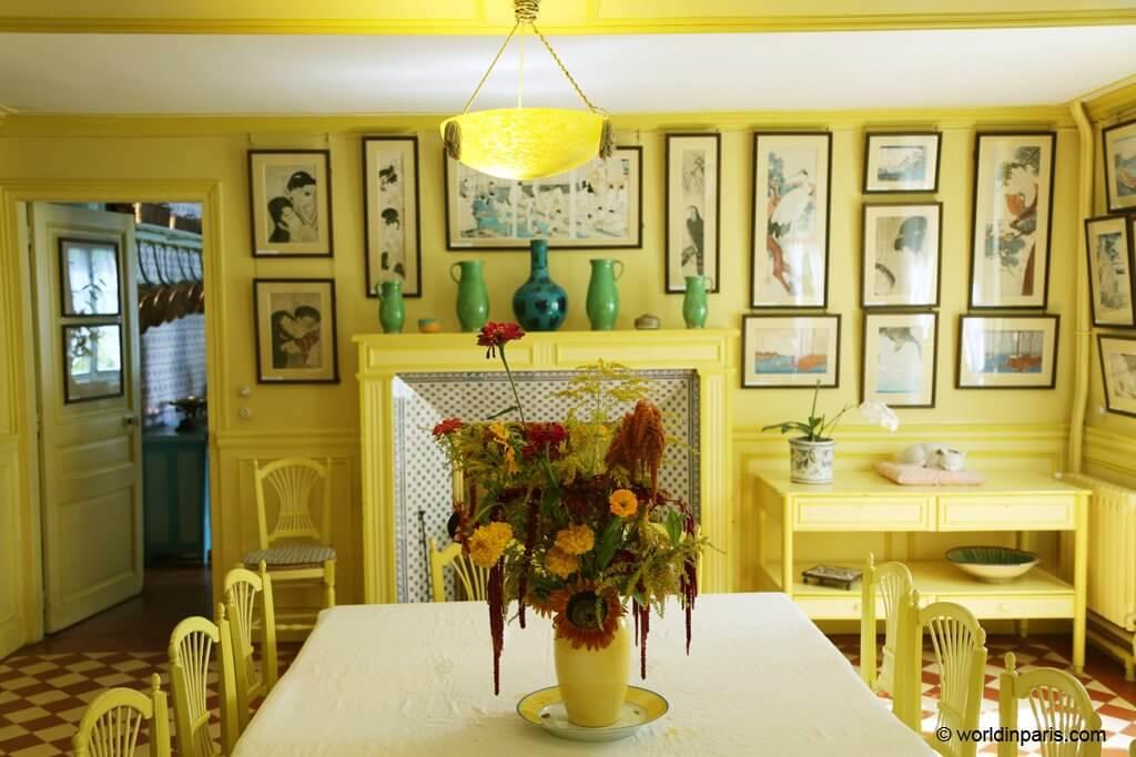 Monet's dinning room