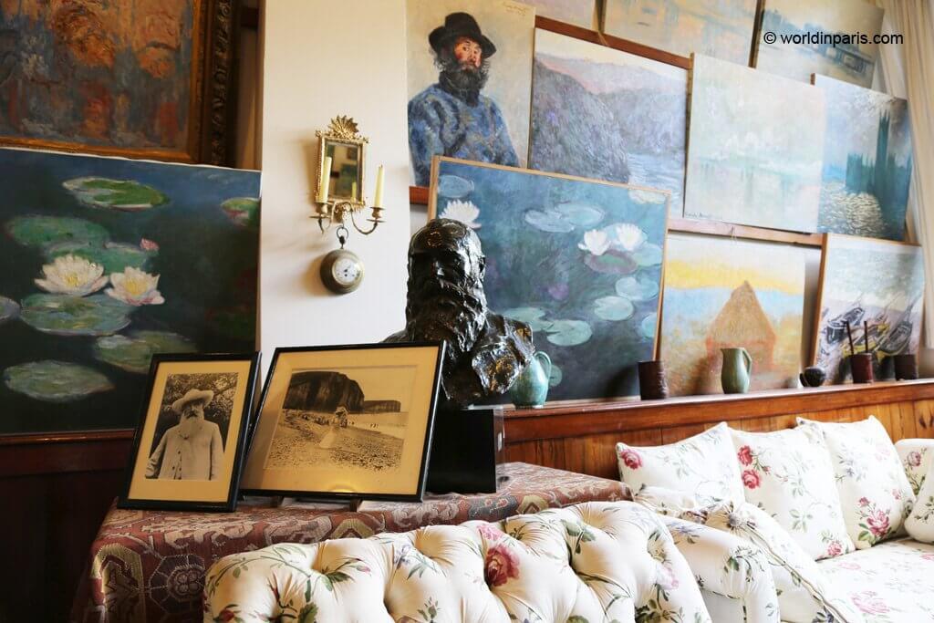Monet's studio in Giverny