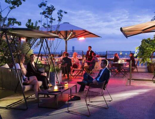 Rooftop bars in Paris
