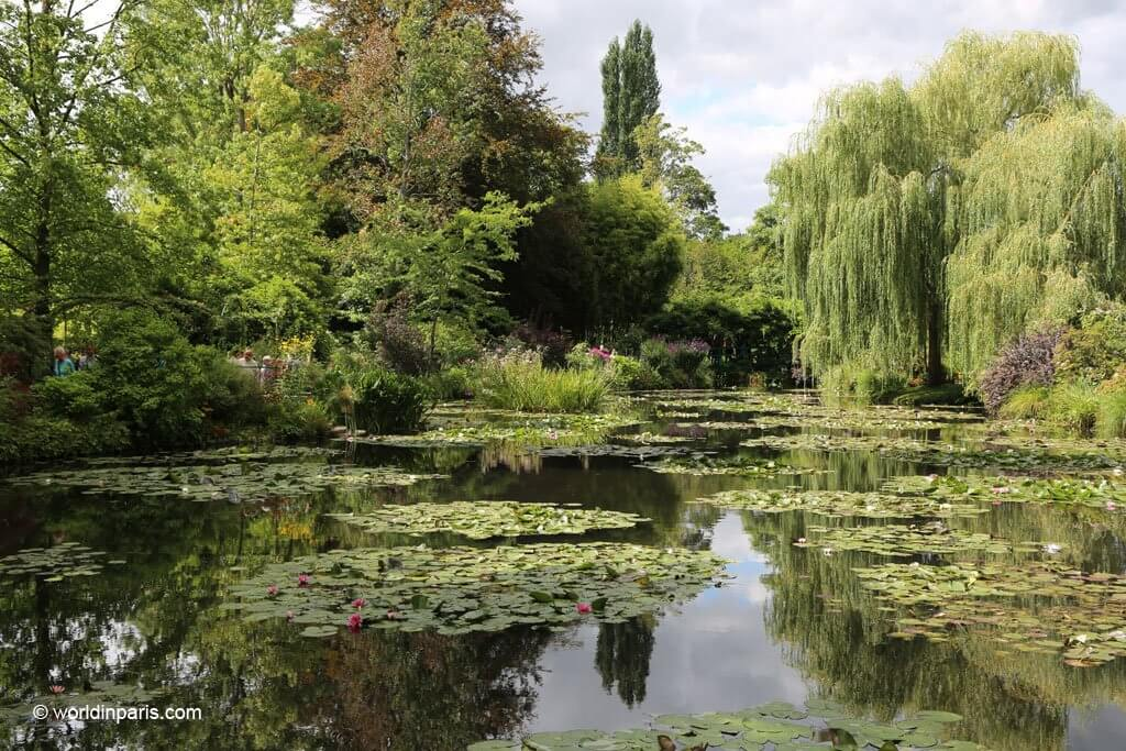 Visit Giverny's gardens