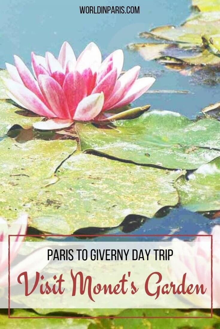 Visit Monet's Garden Giverny, Visit Giverny Gardens, Monet's house and garden, Visit Monet Water Lily Pond, Visit Giverny France, Paris to Giverny day trip, Visit the small town of Giverny France, Visit Giverny a small town near Paris #france #smalltowns