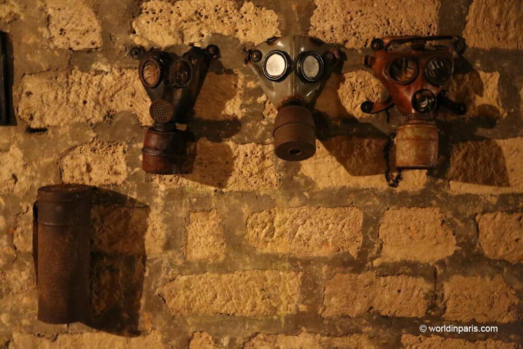 Paris underground bunkers WWII