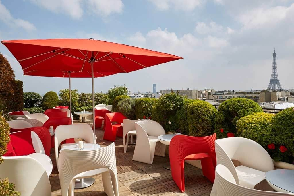 Rooftop Bars with best views of Paris