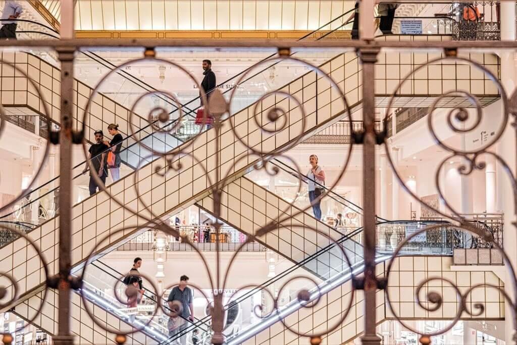 Shopping Paris - Le Bon Marché