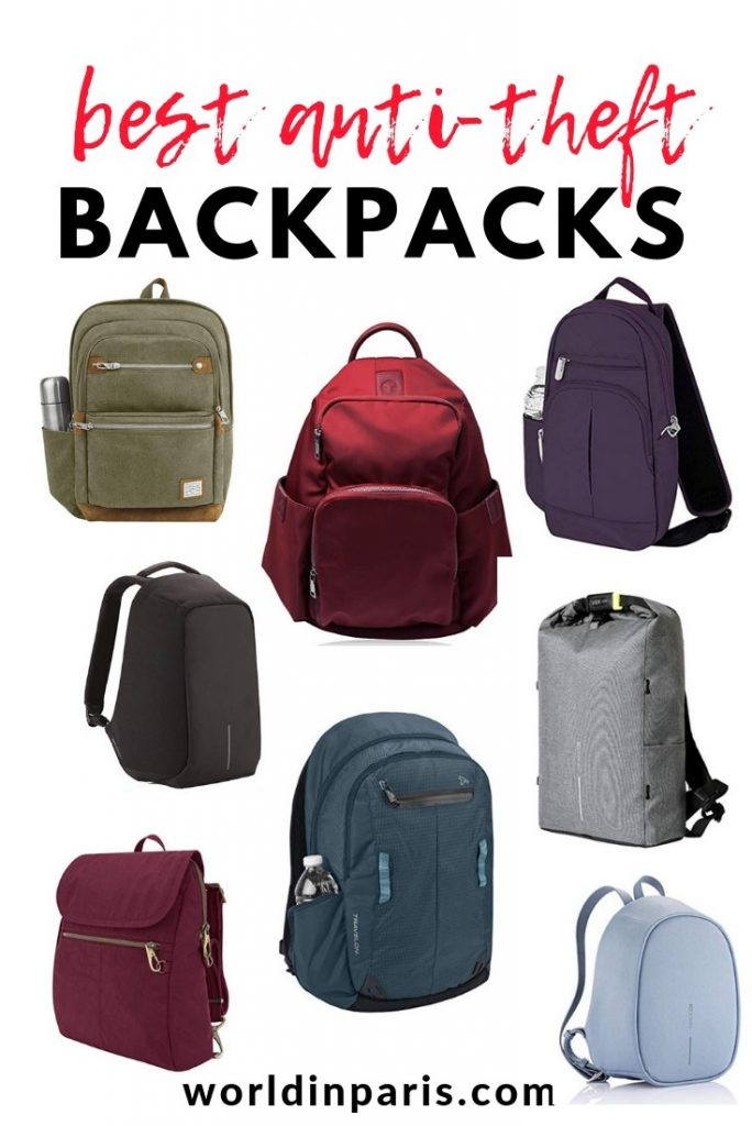 Check our anti-theft backpack review and choose the best anti-theft backpacks for safe travels, best theft proof backpacks, travel safe, anti-theft travel backpack, secure backpacks