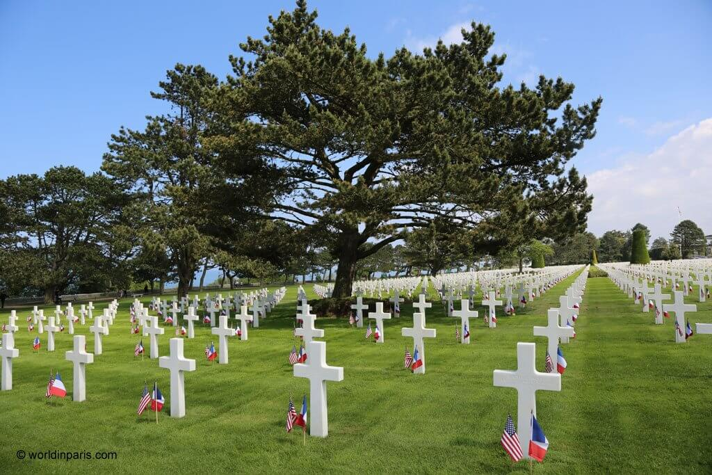 American Cemetery in Saint Laurent