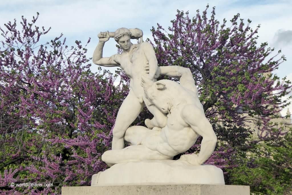 Tuileries Garden Statues