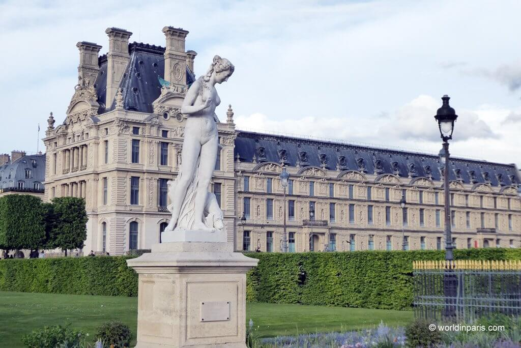 The Tuileries Gardens in Paris