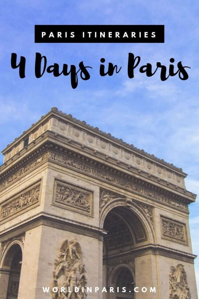 Check our 4 days in Paris Itinerary to spend 4 days in Paris. Enjoy Paris with this 4 days in Paris Trip Planner #paris #tripplanner #france