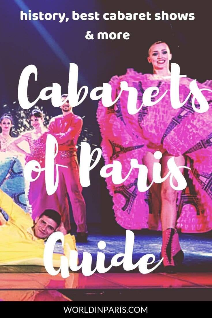 Looking for a Cabaret in Paris? Have a look at our Cabarets of Paris Guide, will all about Parisian Cabarets, French Cabarets, Best Cabaret Shows in Paris, Cabarets Dress Code, Nude Shows, Burlesque Shows in Paris and more. Enjoy Paris at night with our Cabarets Gide. Lido, Moulin Rouge or Crazy Horse: what is the best Cabaret in Paris? #cabarets #paris #france