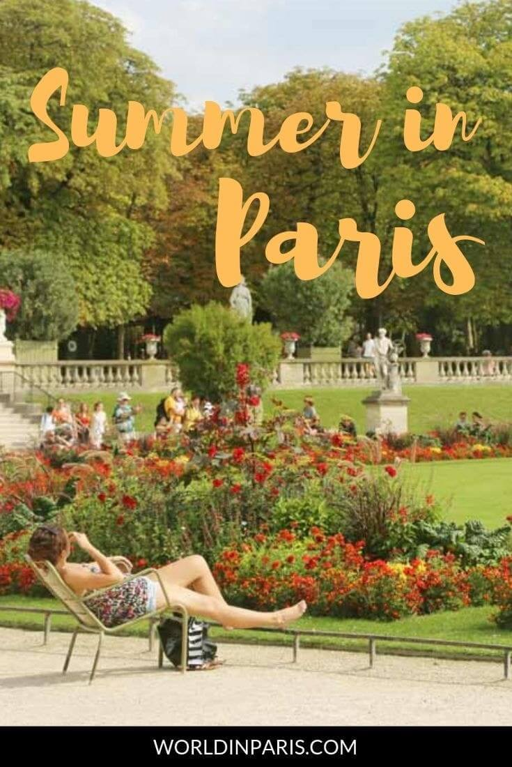 Visiting Paris in the Summer? Check our Summer in Paris Bucket List and enjoy Summer in Paris. Paris Summer Weather, Outdoor Activities in Paris, Things to do in Paris Outdoors, Paris Treasure Hunts and more #paris #france #summer #moveablefeast