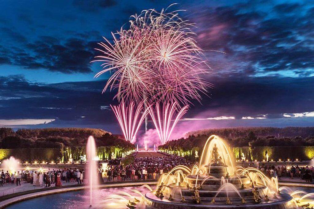 Versailles Gardens Fountain Show