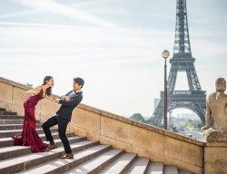 Paris Photography - Eiffel Tower from Trocadero