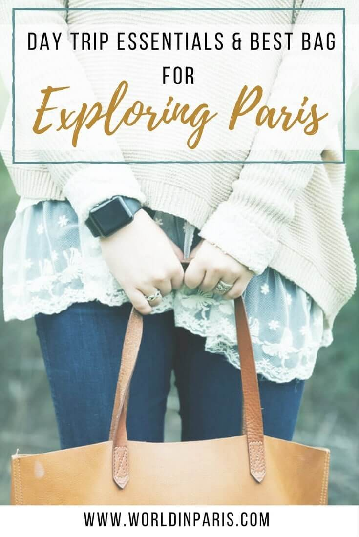 Best Daypack for Travel, Paris Packing List, Best Paris Sightseeing Bag, Paris Essentials, Paris Travel Essentials List, Packing for Paris, Paris Checklist #paris #packinglist