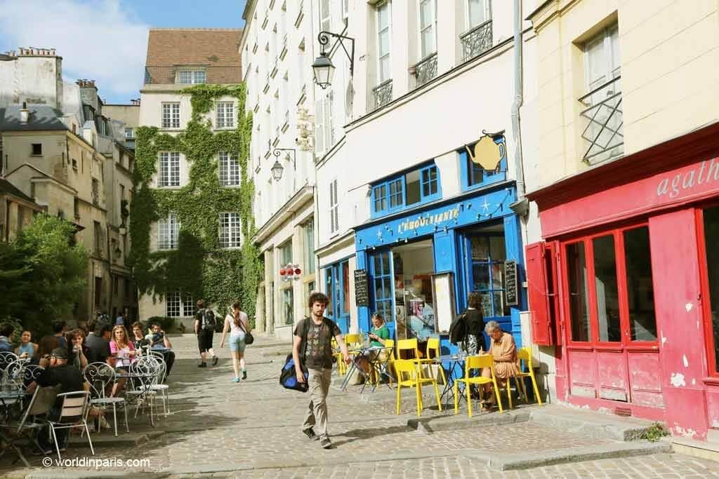 Le Marais - Cafe