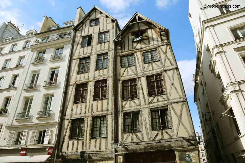 Medieval Houses - Le Marais