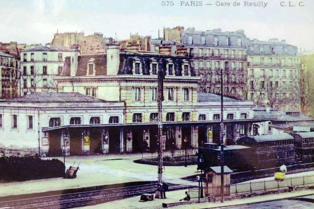 Coulée Verte - Gare de Reuilly