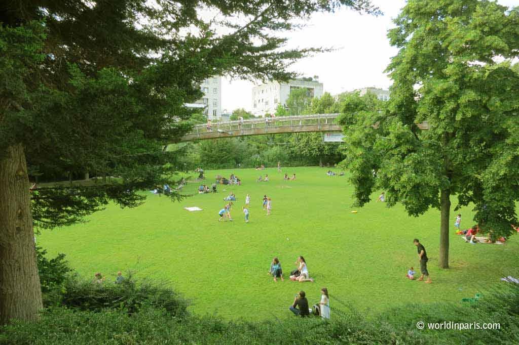 Coulée Verte - Jardin de Reuilly