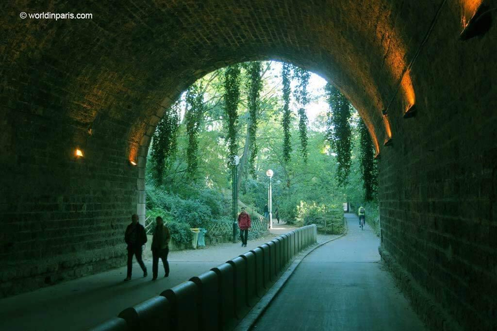 Coulée Verte - Tunnel de Reuilly