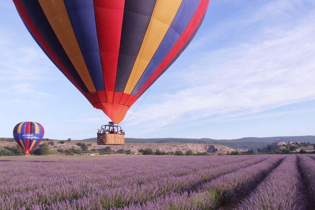 Balloon Ride in Provence
