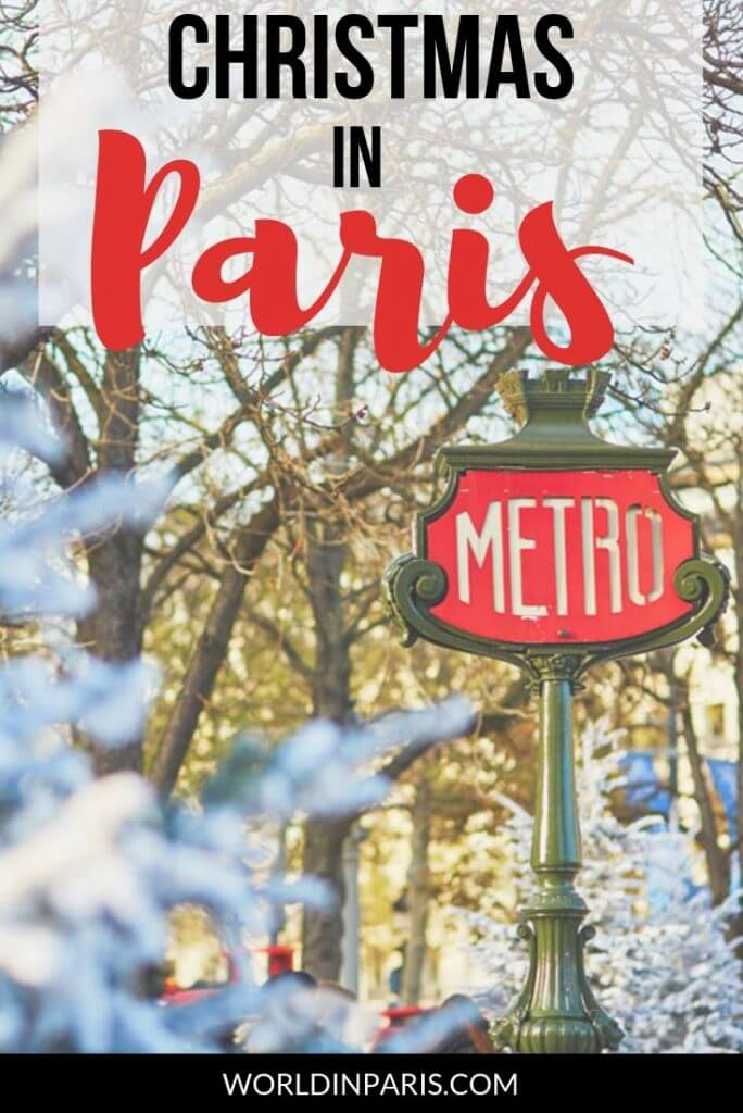Check what to do in Paris at Christmas time and get festive during Christmas in Paris 2019. Paris Christmas Markets, Disnelyand Paris, Christmas lights, and more