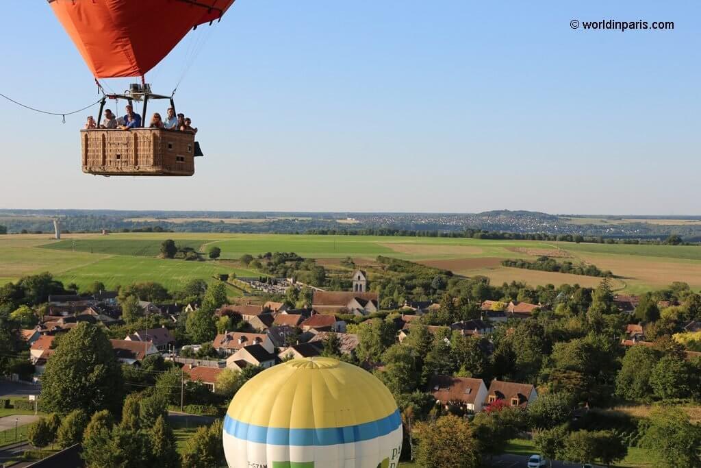 Hot Air Balloon - Take Off