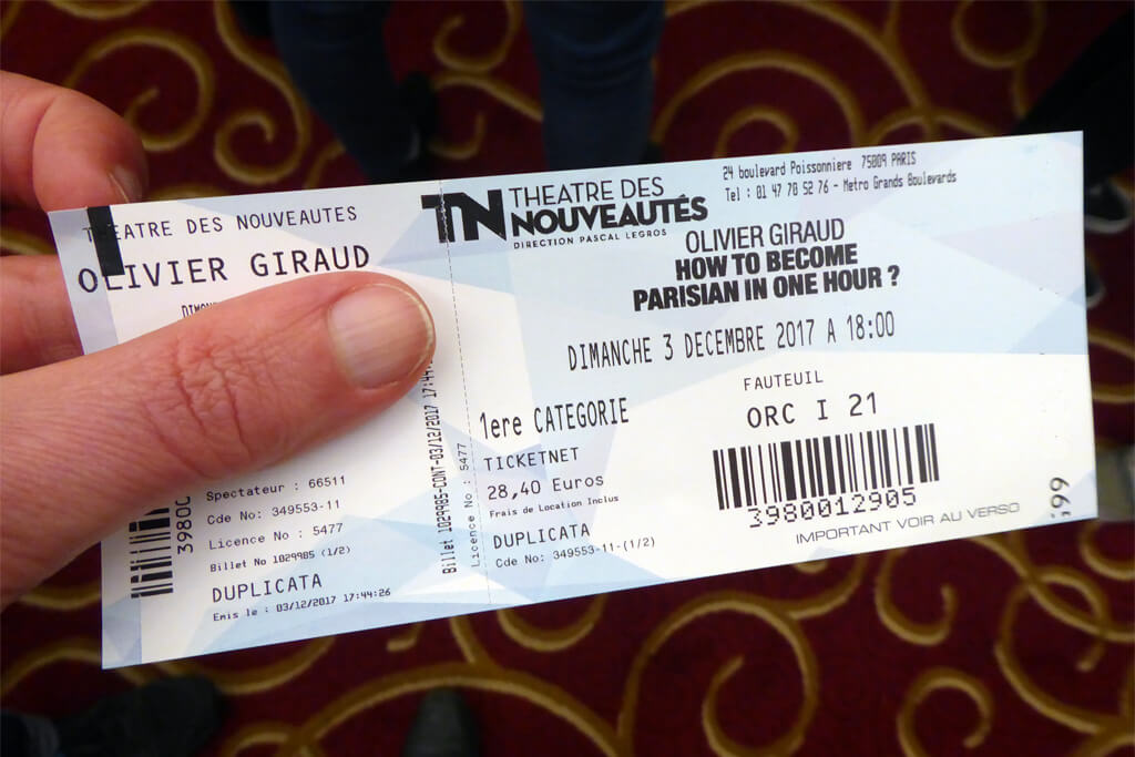 Как стать парижским комедийным шоу Париж