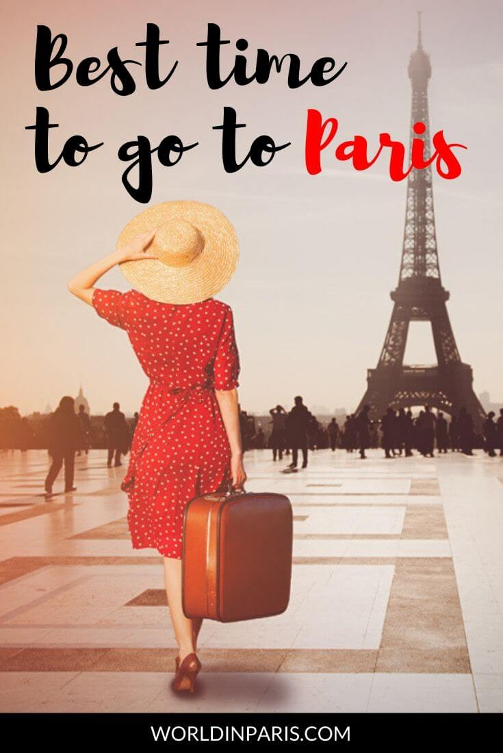When is the best time to go to Paris, France? Read all about the seasons in Paris: best season to visit Paris, temperatures, key events and budget tips #paris #travel