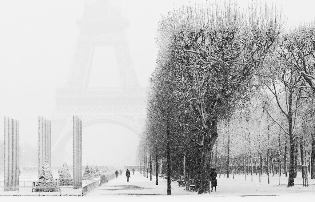 Winter in Paris - Eiffel Tower
