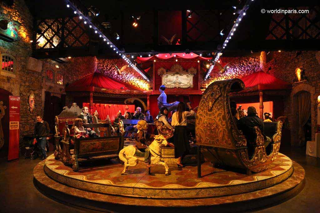 Musée des Arts Forains - Old Carousel