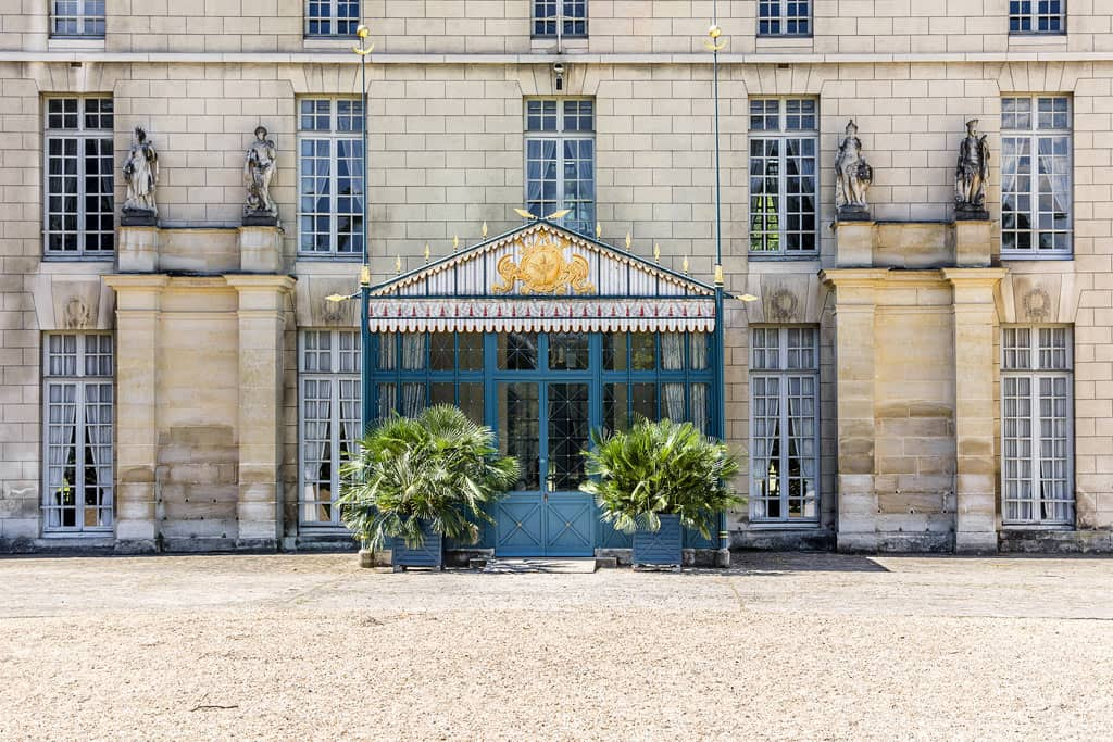 Rear Facade - Château de Malmaison France