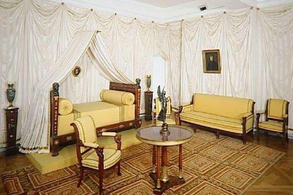 Josephine Bonaparte's Bedroom - Château de Malmaison