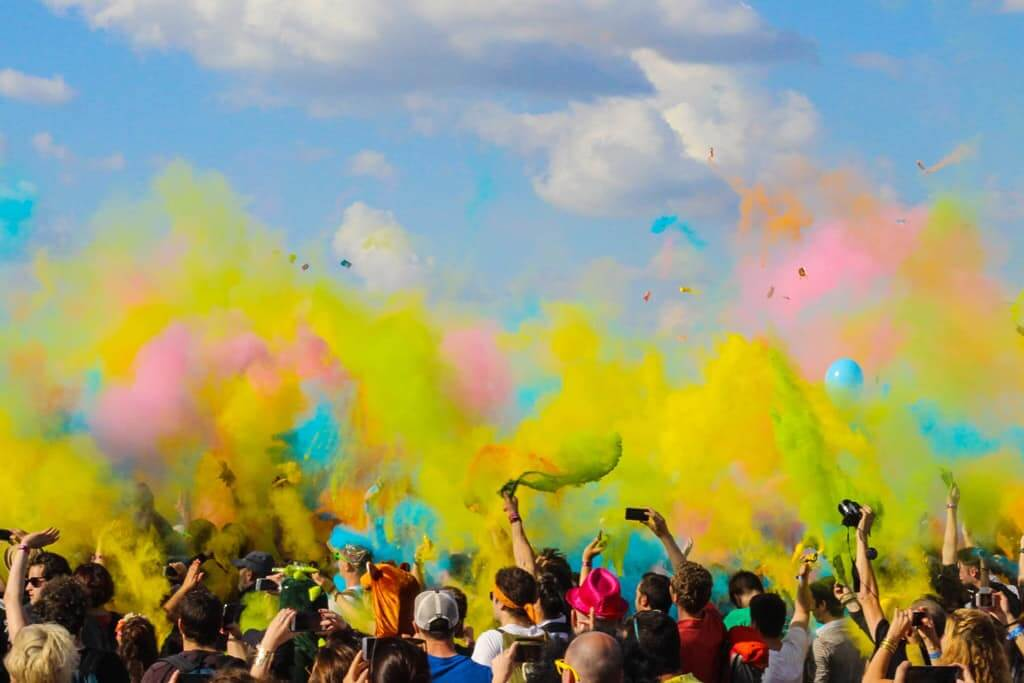 Holi Festival in Paris