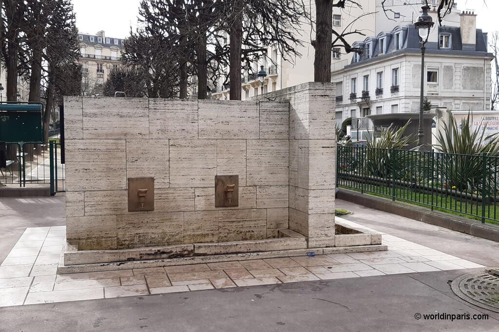 Artesian Well - Paris 16