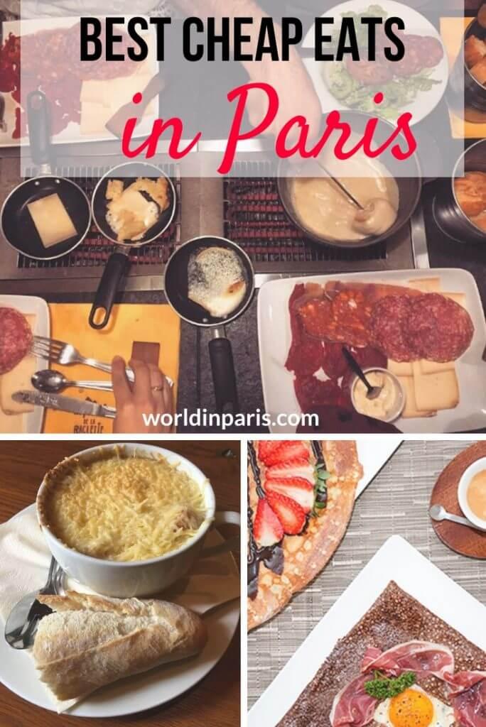 Best Cheap Eats in Paris