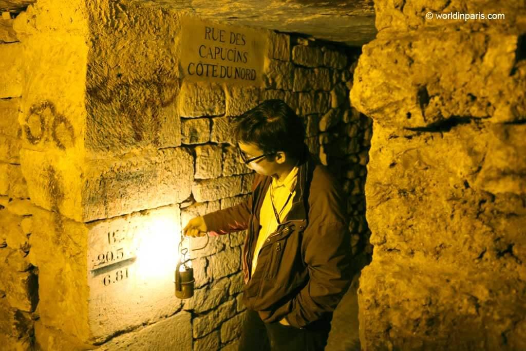 Carrières des Capucins Paris Underground Tour