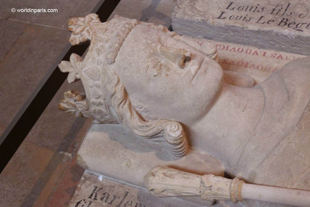 King Charles V Tomb - Saint-Denis
