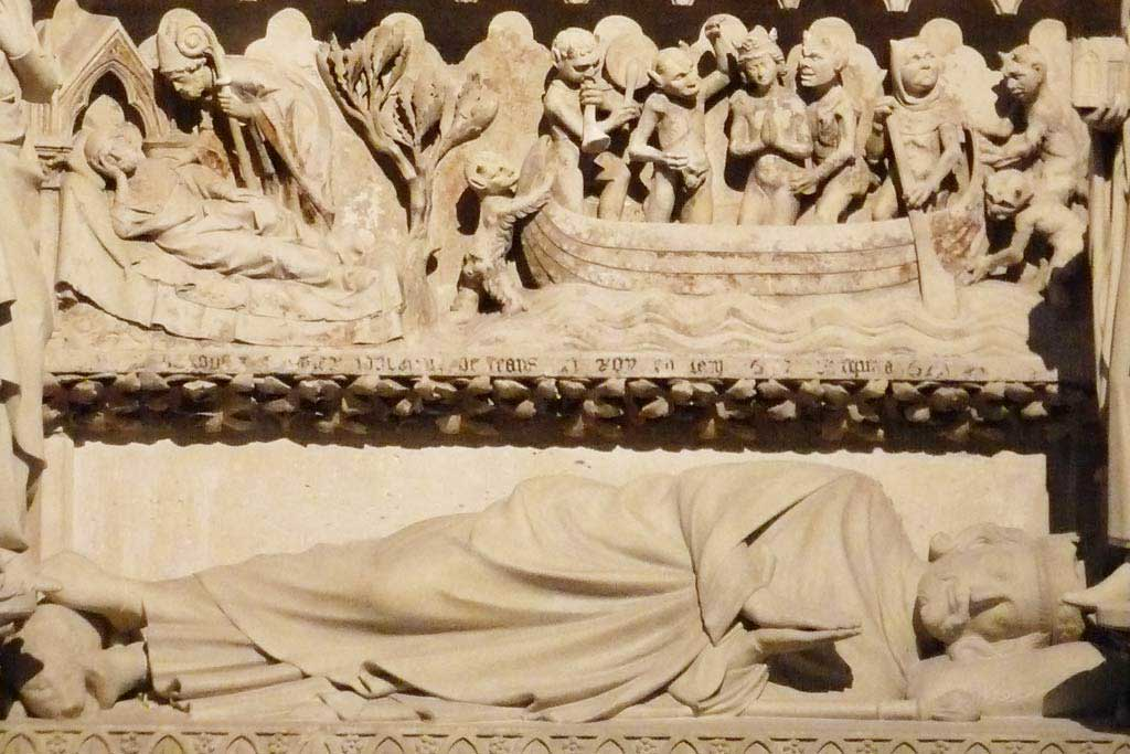 King Dagobert Tomb - Saint-Denis