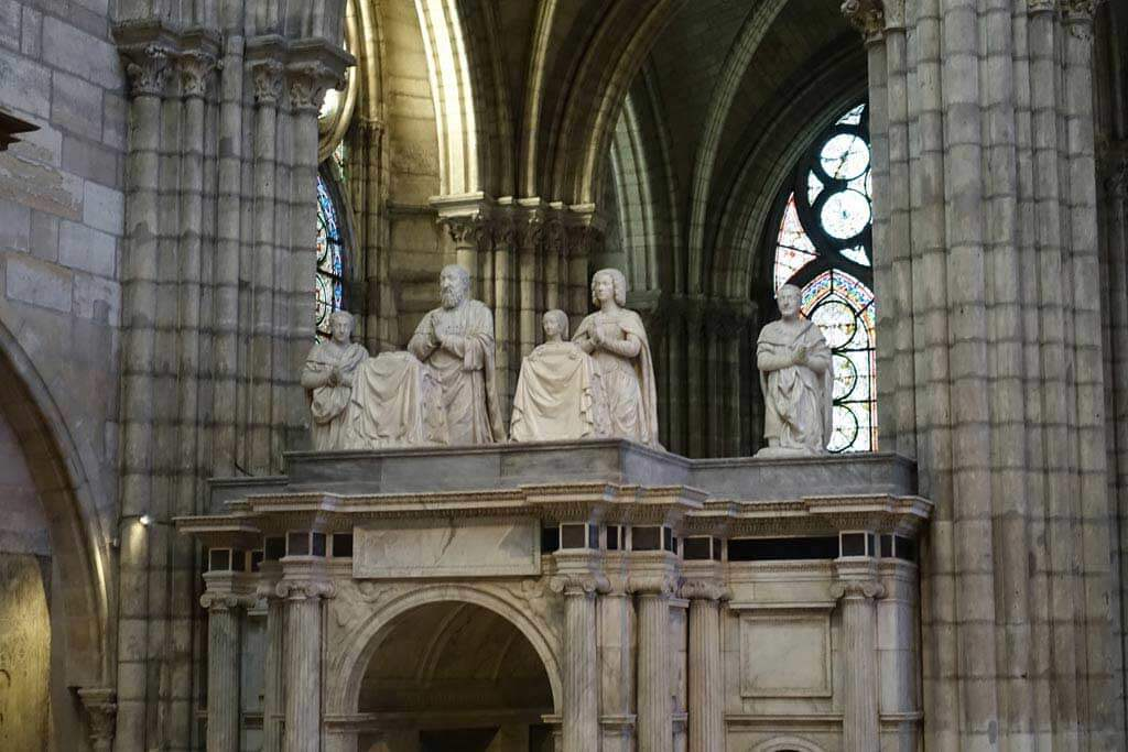 King Francois I Tomb - Saint-Denis