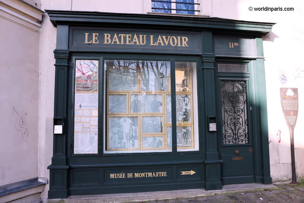 Le Bateau Lavoir - Montmartre