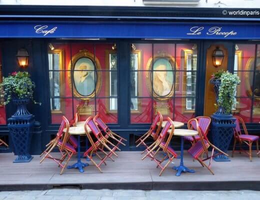 Cafe Le Procope Paris