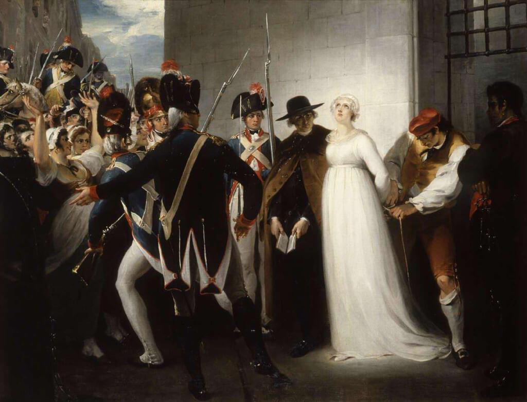Marie-Antoinette's Execution - William Hamilton
