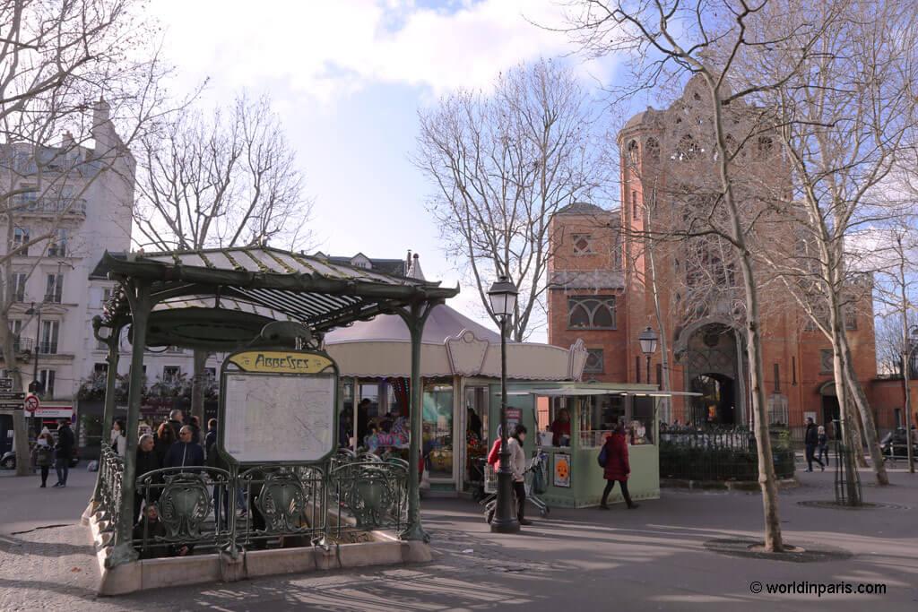 Place des Abbesses - Montmartre